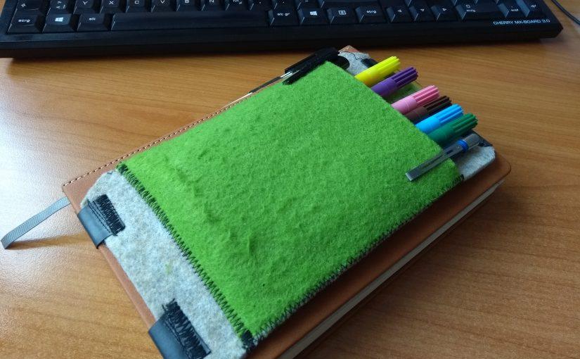 Kleinteiletasche für das Bullet Journal