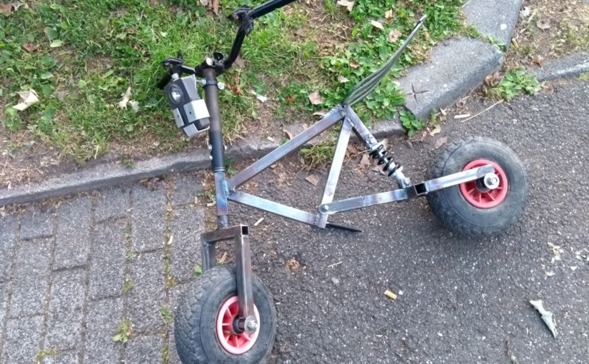Projekt Forkrider: DIY Pocket Bike Update 24.06.2019