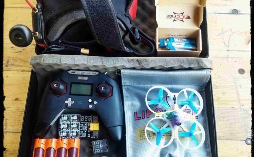 Bashtel hebt ab. FPV Quadcopter für Einsteiger